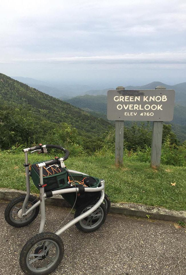 The Veloped at Green Knob Overlook, elev. 4760